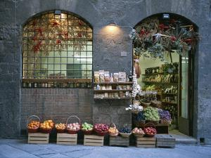 A Fruit and Vegetable Shop in Siena by Taylor S^ Kennedy