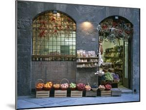 A Fruit and Vegetable Shop in Siena by Taylor S. Kennedy