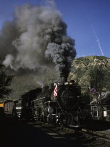 A Steam Engine Leaves the Station in Durango, Colorado, Durango, Colorado by Taylor S. Kennedy