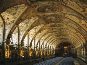 A View of the Antiquarium in the Residenz Palace in Munich by Taylor S. Kennedy