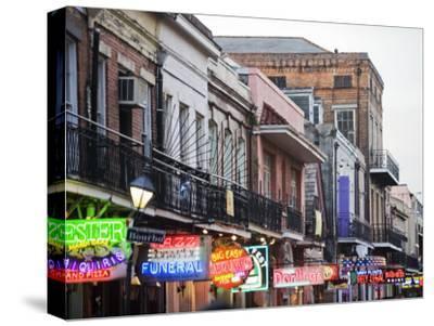 Bourbon Street at Dusk