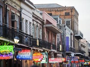 Bourbon Street at Dusk by Taylor S. Kennedy
