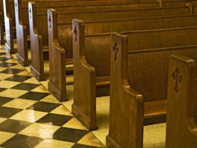 Church Pews in St Louis Cathedral