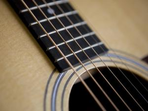 Close View of a Guitar, Annapolis, Maryland, United States by Taylor S^ Kennedy
