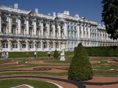 Garden in the Catherine Palace Outside St Petersburg