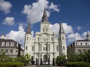 St Louis Cathedral in Jackson Square on a Sunny Day by Taylor S. Kennedy