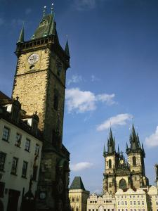 The Old Town Square in Prague by Taylor S. Kennedy