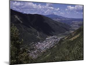 The Small Mountain Village Seen from One of the Nearby Mountains, Telluride, Colorado by Taylor S. Kennedy