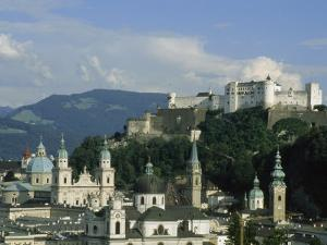 View Out over Salzburg, Austria by Taylor S. Kennedy
