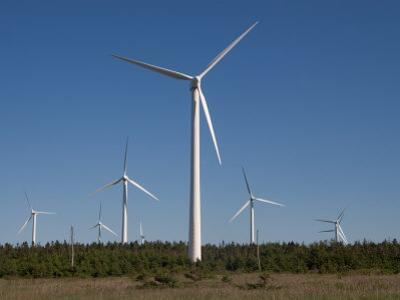 Wind Turbines Generating Electricity by Taylor S^ Kennedy