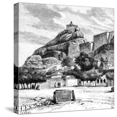 The Rock Fort Temple of Tiruchirapalli, India, 1895