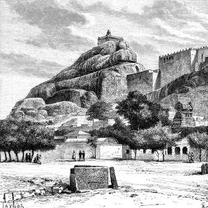 The Rock Fort Temple of Tiruchirapalli, India, 1895 by Taylor