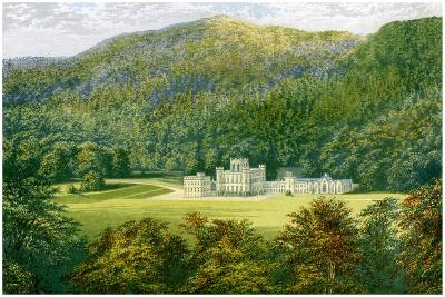 Taymouth Castle, Perthshire, Scotland, Home of the Earl of Breadalbane, C1880-Benjamin Fawcett-Giclee Print