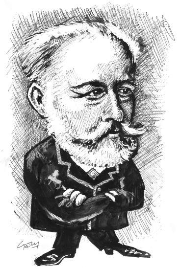 Tchaikovsky-Gary Brown-Giclee Print