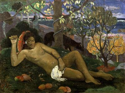 Te Arii Vahine (Woman of Royal Blood, the Queen, the King's Wife), 1896-Paul Gauguin-Giclee Print