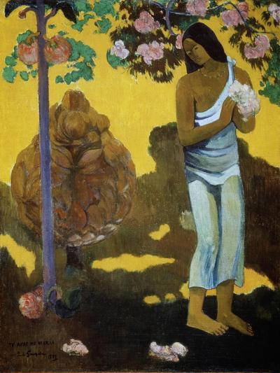 Te Avae No Maria (The Month of Mar), 1899-Paul Gauguin-Giclee Print