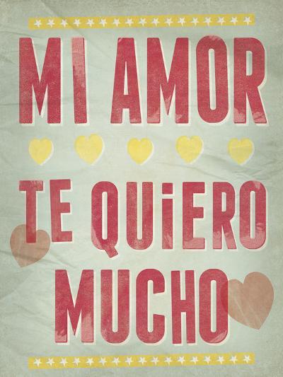 Te Quiero Mucho-Clara Wells-Giclee Print