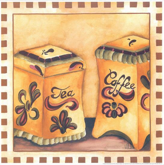 Tea And Coffee-Urpina-Art Print