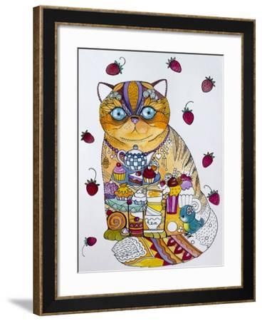 Tea And Cupcakes 2-Oxana Zaika-Framed Giclee Print