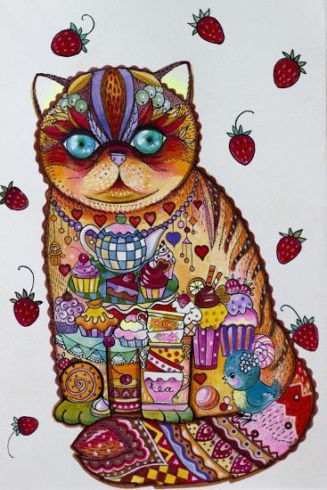 Tea And Cupcakes 3-Oxana Zaika-Giclee Print