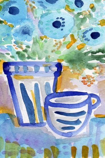 Tea and Flowers-Linda Woods-Art Print
