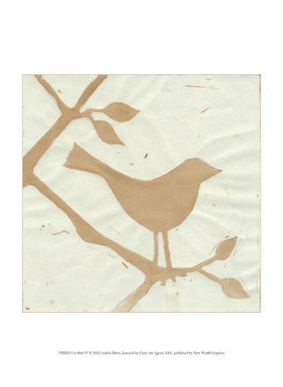 Tea Bird IV-Andrea Davis-Art Print