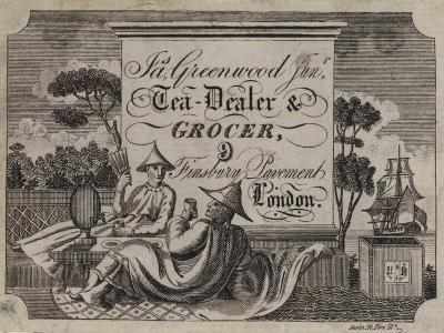 Tea Dealer and Grocer, James Greenwood, Trade Card--Giclee Print