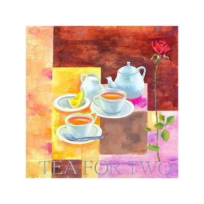 Tea for Two-Don Valenti-Art Print