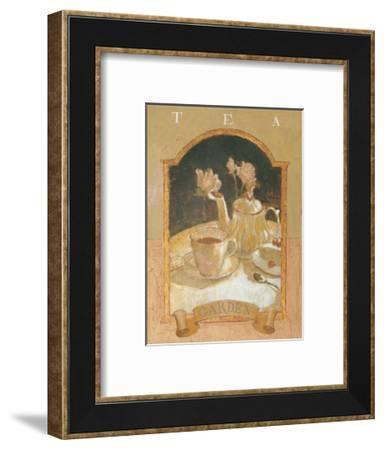 Tea Garden-Thomas LaDuke-Framed Art Print