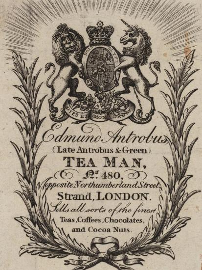 Tea Man, Edmund Antrobus, Trade Card--Giclee Print
