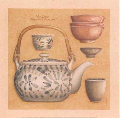 Tea Pot III-Laurence David-Art Print