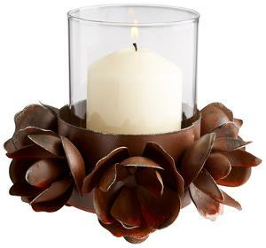 Tea Rose Candleholder *