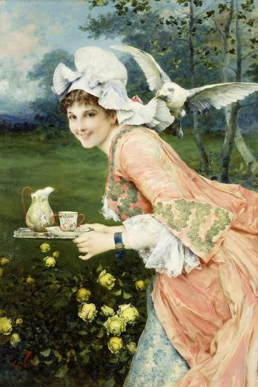 Tea Time Tease-Francesco Vinea-Giclee Print