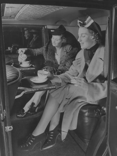 Tea Time Travel--Photographic Print