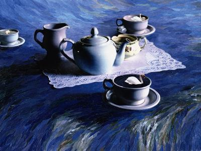 Tea Time with Gordy, 1998-Ellen Golla-Giclee Print