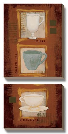 Tea Time-Rita Vindedzis-Canvas Art Set