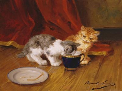 Tea-Time-Alphonse Marie de Neuville-Giclee Print
