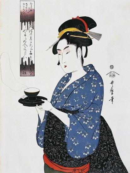 Tea Time--Giclee Print