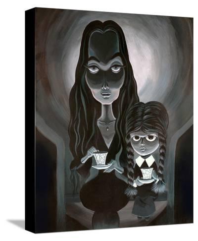 Tea with Mother-Bob Lizarraga-Stretched Canvas Print