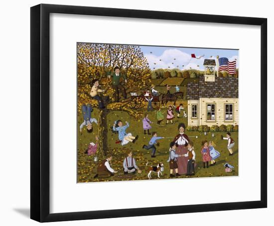 Teacher and Peacemaker-Sheila Lee-Framed Giclee Print