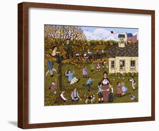 Teacher and Peacemaker-Sheila Lee-Framed Giclee Print