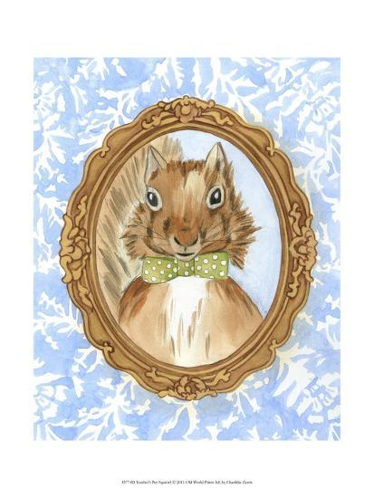 Teacher's Pet - Squirrel-Chariklia Zarris-Art Print