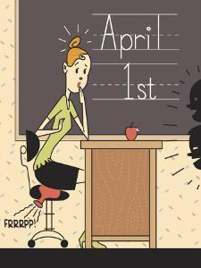Teacher Worried on April Fools Day