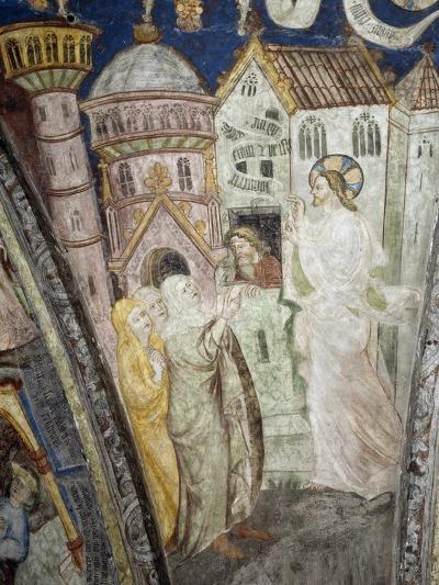 Teachings of Christ, Instructing Clerics, Fresco, Cloister, Santa Maria Assunta and San Cassiano--Giclee Print