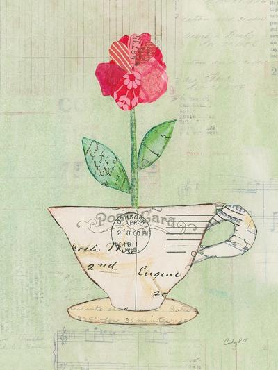 Teacup Floral I on Print-Courtney Prahl-Art Print