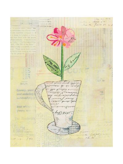 Teacup Floral II on Print-Courtney Prahl-Art Print