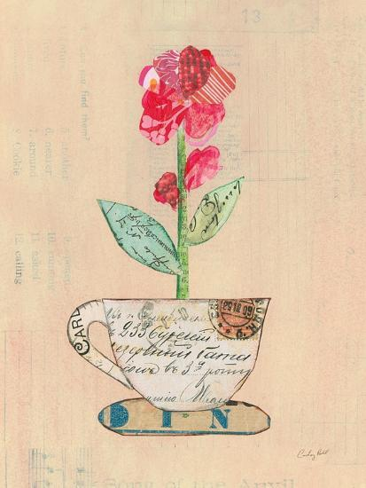 Teacup Floral IV on Print-Courtney Prahl-Art Print