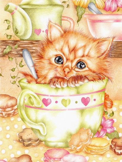 Teacup-Karen Middleton-Giclee Print