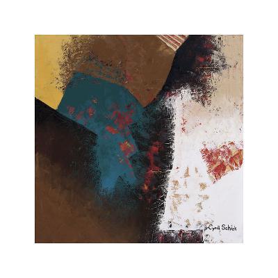 Teal Abstract II-Cyndi Schick-Giclee Print