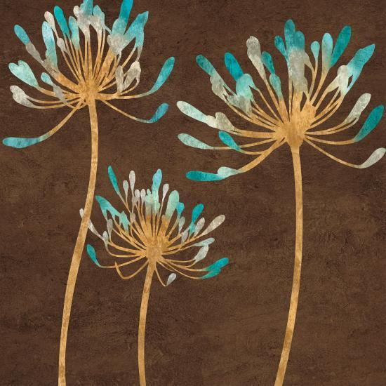 Teal Bloom I-Erin Lange-Art Print